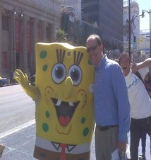 Chiropractor Breese IL Clinton Smith and Spongebob
